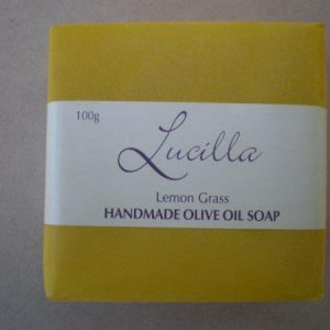 Olive Oil Soap - Lemon Grass