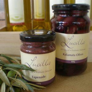 Lucilla Table Olives
